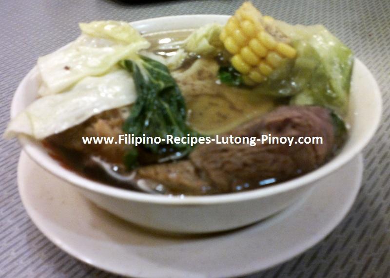Bulalo Lutong Pinoy Truly Filipino Beef Shank Soup