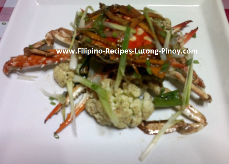Crabs With Salt And Pepper Filipino Recipe